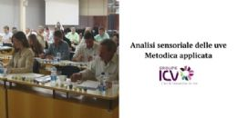 Corso in aula: Metodologia ICV di analisi sensoriale delle uve - Modulo metodica applicata