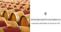 Barricas com diferentes OTR e impacto no vinho