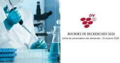 Programme de bourses de recherches de l´OIV - 2020