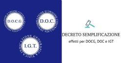 Decreto semplificazione e denominazioni di origine