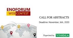 ENOFORUM WEB CONTEST 2021: call for abstracts