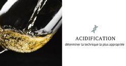 Acidifier les vins : quand et comment ?