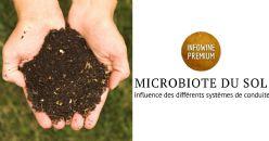 Étude microbiologique et agronomique des sols viticoles