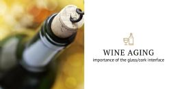 Wine aging: a bottleneck story
