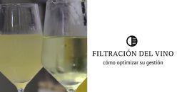 Gestión del proceso de filtración del vino