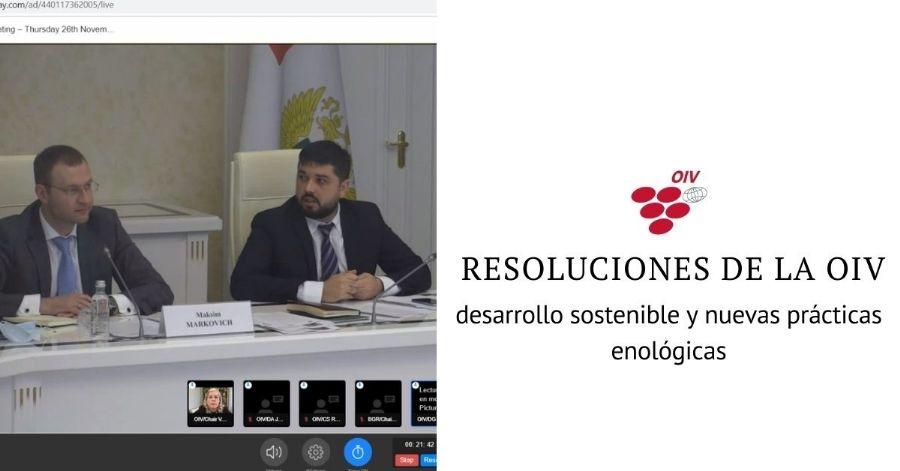 RESOLUCIONES DE LA  OIV