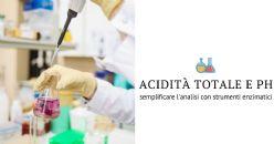 Misura di acidità totale e pH