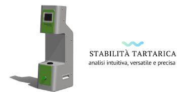 Nuova tecnologia 4.0 di laboratorio per la stabilità tartarica dei vini