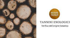 Verifica dell'origine botanica dei tannini enologici