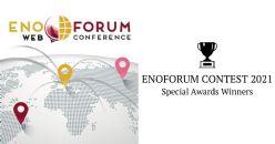 ENOFORUM CONTEST 2021 - Los ganadores de los premios especiales