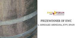 LUCIA GONZALEZ-ARENZANA, Instituto de Ciencias de la Vid y el Vino (ICVV), prémio vencedor ENOFORUM CONTEST 2021