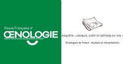 Enquête « Odorat, goût et métiers du vin » des Œnologues de France : résultats et interprétations
