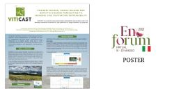 Powdery mildew, downy mildew and Botrytis diseases forecasting to increase vine cultivation sustainability