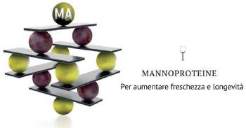 Mannoproteine per aumentare la freschezza e la longevità dei vini bianchi e rosati