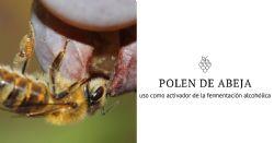 Uso de polen de abeja como activador de la fermentación alcohólica en vinos blancos