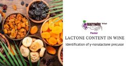 Identification of γ-nonalactone precusor in merlot and cabernet sauvignon grapes