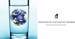 Revue de Presse - L'utilisation durable de l'eau dans les vignobles de raisins de cuve
