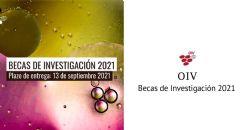 Programa 2021 de becas de investigación de la OIV
