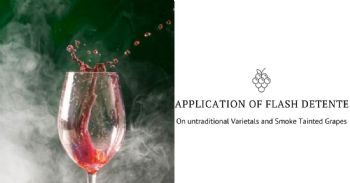 Application of Flash Detente on Untraditional Varietals and Smoke Tainted Grapes