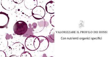 Valorizza il profilo sensoriale dei vini rossi con due nuovi nutrienti organici specifici