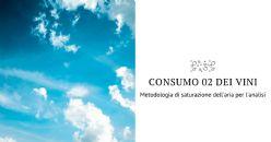 Rassegna stampa: Proposta di una metodologia di saturazione dell'aria per l'analisi della cinetica di consumo di ossigeno dei vini