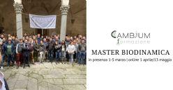 Master Cambium Biodinamica per Il Vino 2022