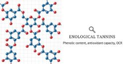 Relation between phenolic content, antioxidant capacity, oxygen consumption rate of diverse tannins