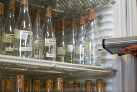 Armadio termostatico per lo stoccaggio dele bottiglie